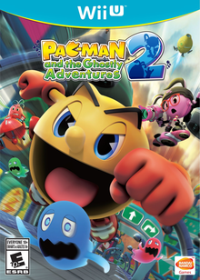 Box art for the game PAC-MAN and the Ghostly Adventures 2