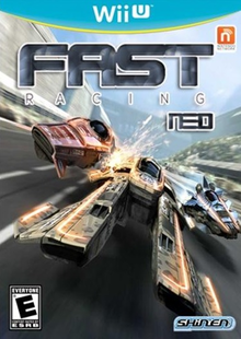 Box art for the game FAST Racing Neo
