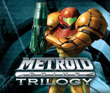 Box art for the game Metroid Prime: Trilogy