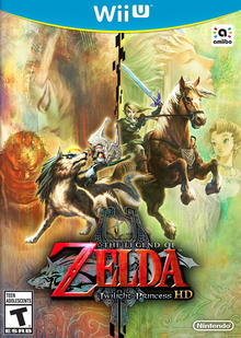 Box art for the game The Legend of Zelda: Twilight Princess HD