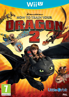 Box art for the game How to Train Your Dragon 2