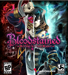 Box art for the game Bloodstained: Ritual of the Night