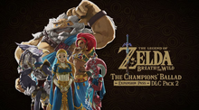 Box art for the game The Legend of Zelda: Breath of the Wild - The Champions' Ballad DLC