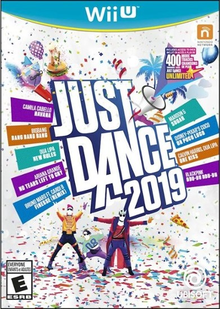 Box art for the game Just Dance 2019