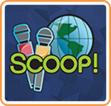 Box art for the game SCOOP! Around the World in 80 Spaces