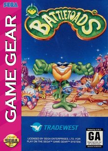 Box art for the game Battletoads