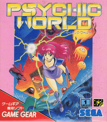 Box art for the game Psychic World