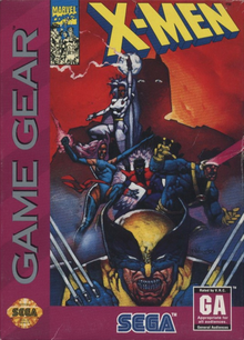 Box art for the game X-Men