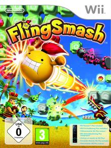 Box art for the game FlingSmash