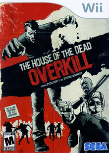 Box art for the game The House of the Dead: Overkill