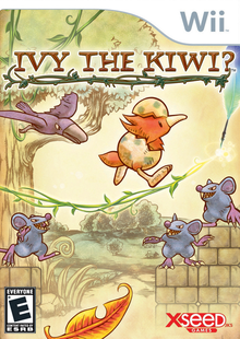 Box art for the game Ivy the Kiwi?