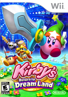 Capa do jogo Kirby's Return to Dreamland