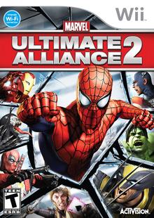 Box art for the game Marvel: Ultimate Alliance 2