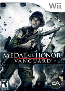 Box art for the game Medal of Honor: Vanguard