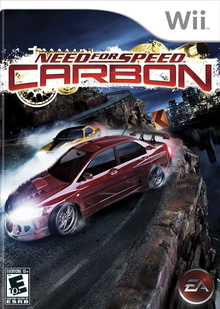 Box art for the game Need for Speed: Carbon