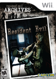 Box art for the game Resident Evil Archives: Resident Evil