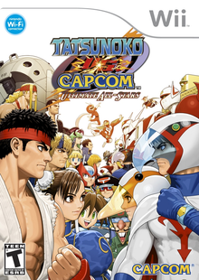 Box art for the game Tatsunoko vs. Capcom: Ultimate All-Stars