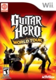 Box art for the game Guitar Hero World Tour