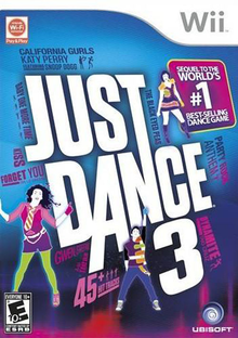 Box art for the game Just Dance 3
