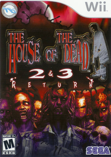 Box art for the game The House of the Dead 2 & 3: Return