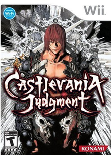 Box art for the game Castlevania Judgement