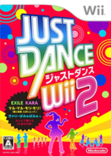 Box art for the game Just Dance Wii 2
