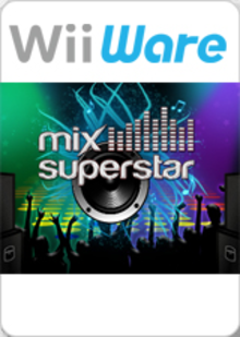 Box art for the game Mix Superstar