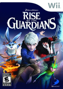 Box art for the game Rise of the Guardians