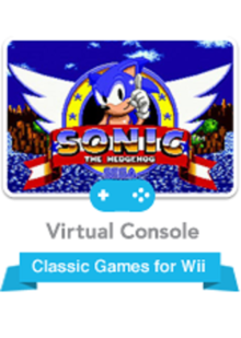Box art for the game Sonic the Hedgehog