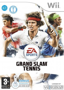 Box art for the game Grand Slam Tennis