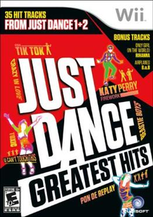 Box art for the game Just Dance Greatest Hits
