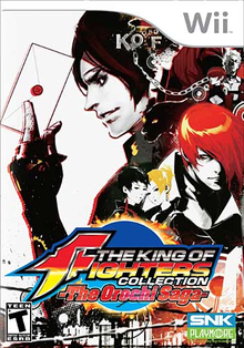 Capa do jogo The King of Fighters Collection: the Orochi Saga