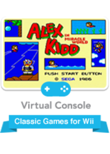 Box art for the game Alex Kidd in Miracle World