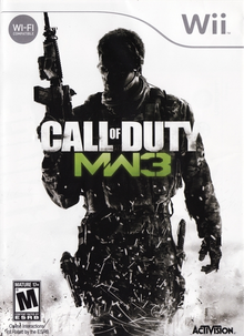Box art for the game Call of Duty: Modern Warfare 3