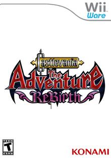 Box art for the game Castlevania: The Adventure ReBirth