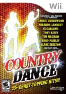 Box art for the game Country Dance