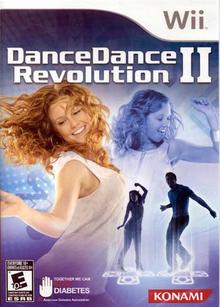 Box art for the game Dance Dance Revolution II