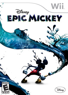 Box art for the game Disney Epic Mickey