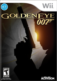 Box art for the game GoldenEye 007