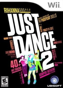 Box art for the game Just Dance 2