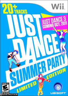 Box art for the game Just Dance Summer Party
