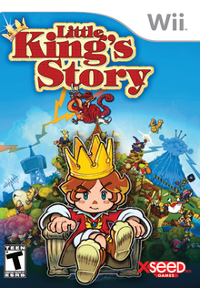 Box art for the game Little King's Story