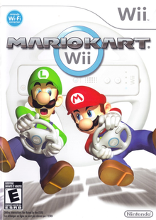 Box art for the game Mario Kart Wii