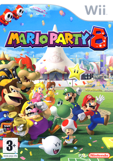 Box art for the game Mario Party 8