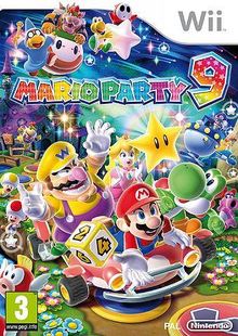 Box art for the game Mario Party 9