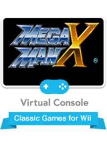 Box art for the game Mega Man X