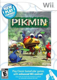 Box art for the game New Play Control! Pikmin