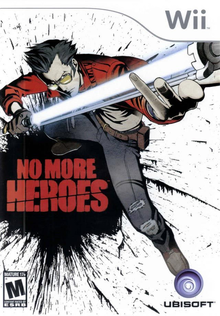 Box art for the game No More Heroes