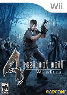 Box art for the game Resident Evil 4: Wii Edition
