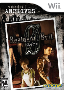 Box art for the game Resident Evil Archives: Resident Evil Zero